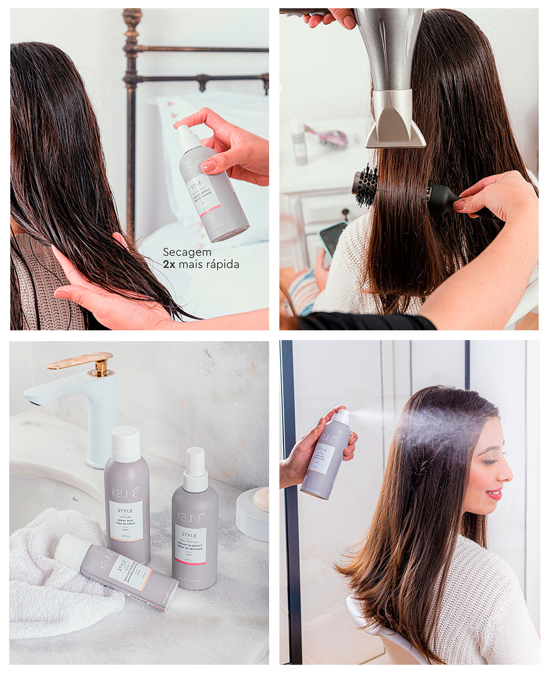 Passo-a-Passo-Style Instant Blowout
